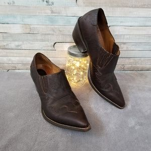 Ariat Espresso Ankle Boots